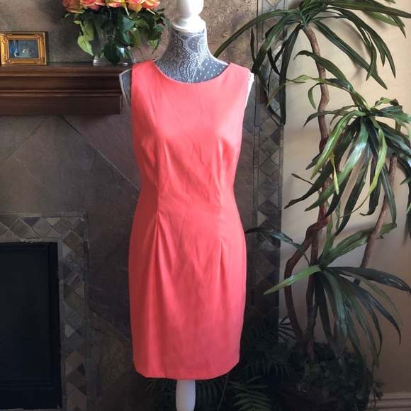 c153bed3fdadd Alyx Dresses   Skirts - Peach Sheath Dress Size 12